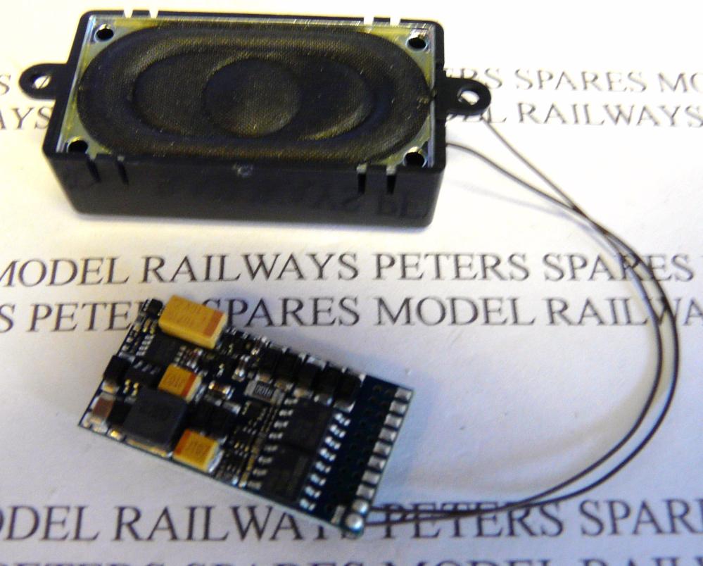 ESU 82473 V4 Class 4MT 3MT Mogul Rod 2-8-0 Ivatt 2MT DCC Sound Decoder 21 Pin