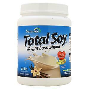 Naturade Total Soy Weight Loss Shake Vanilla 1.2 lbs