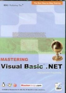 Details about Mastering Visual Basic  NET Web Application Programming  Software Tutorial NEW