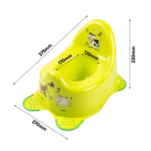 Keeeper Funny Farm Babytopf mit Anti-rutsch-Funktion grün