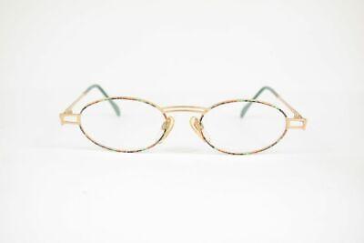 Attento Vintage Joop! 8332-081 49 [] 19 135 Oro-marrone Ovale Occhiali Eyeglasses Nos-