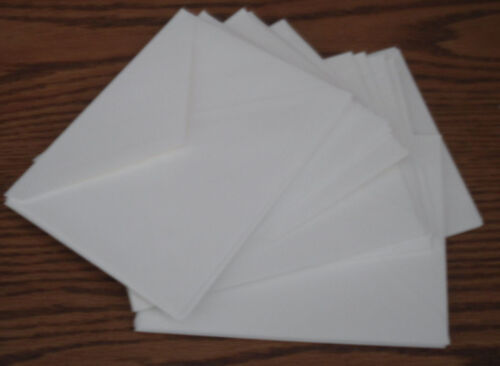 """ENVELOPES FOR GREETING CARDS 25 IVORY MEDIUM 4 3//4/"""" X 6 1//4/"""" //SEE MY OTHER ITEMS"""