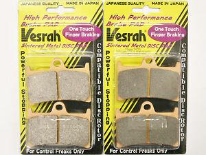 Vesrah Front Brake Pads 2003-2018 Yamaha YZFR6 R6 VD-248JL