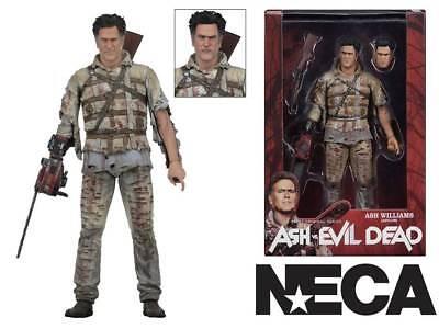 """Series 2 Asylum Ash NECA Ash Vs Evil Dead 7/"""" Action Figure"""