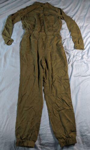 Banana Republic Women/'s L//S Tencel Flight Jumpsuit KB8 Olive Size 2 Tall