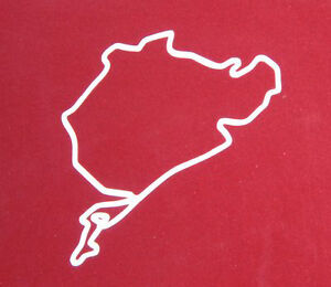 OFFERTA-Adesivo-Nurburgring-m3-gtr-impreza-lancer-elise-amg-sticker-decal