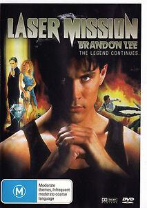 Details about LASER MISSION Brandon Lee DVD Region Free - New - PAL