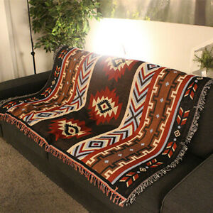 Home-Decor-Aztec-Navajo-Towel-Mat-Throw-Wall-Hanging-Cotton-Rugs-Classic