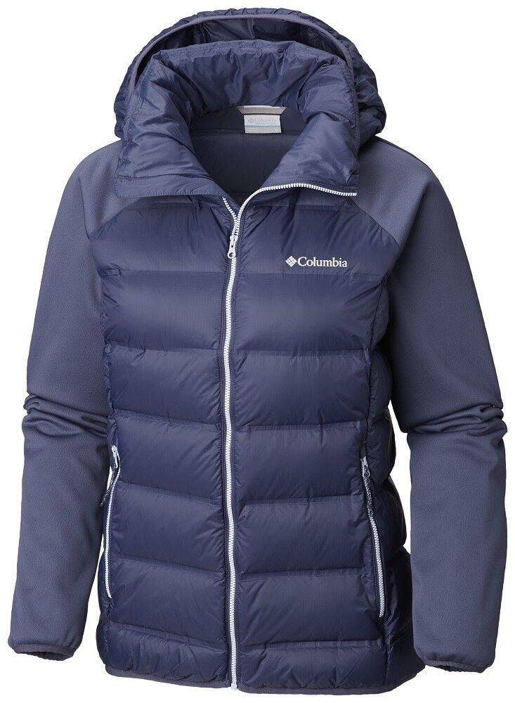Columbia Explorer se wk0906466 isolati caldo piumino con cappuccio giacca da donna