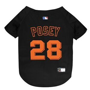 BUSTER-POSEY-27-San-Francisco-Giants-MLBPA-Officially-Licensed-Dog-Jersey-Black