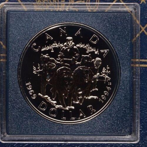 Canada 1994 SILVER Dollar .925 sterling silver Uncirculated Type BU