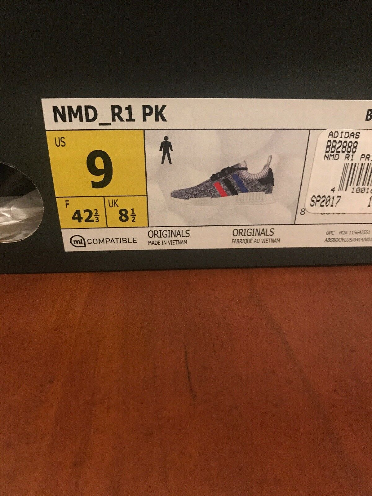 Nmd r1 pk tri color