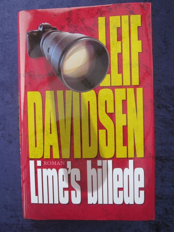 Lime's billede - NY, Leif Davidsen, genre: krimi og