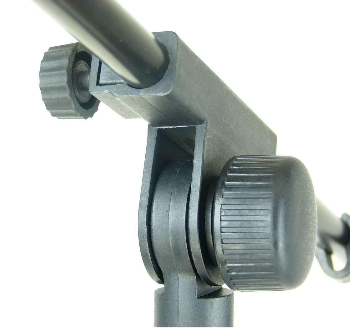 6 x Microphone Stand Mic Tripod ADM S22B mirkofonstativ with Gallows/Swing Arm