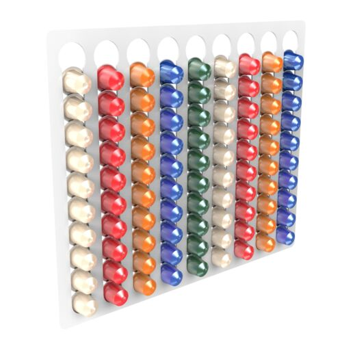 Nespresso Capsule Coffee Pod Holder Stand Container Wall Display Rack