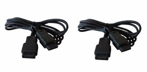 Sega-Saturn-2x-Controller-Gamepad-Verlaengerungskabel-Neu