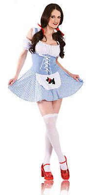 Sexy Hen Party Police Costume Uniform Gangster Nurse Maid Fancy Dress Costume