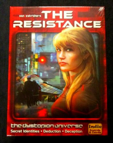 OEJ ~ The Resistance ~ Third Edition ~ by Indie Boards /& Cards
