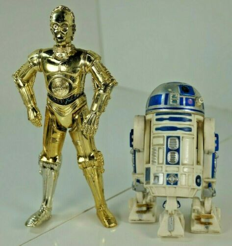 STAR WARS Hasbro A New Hope Classic C-3PO /& R2-D2 Robot droid figures Loose NEW!