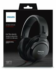 Philips SHP2600/27 Over Ear Headphones - Black