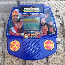WWF SUPERSTARS TIGER ELECTRONIC LCD VIDEO GAME HANDHELD RARE 1990