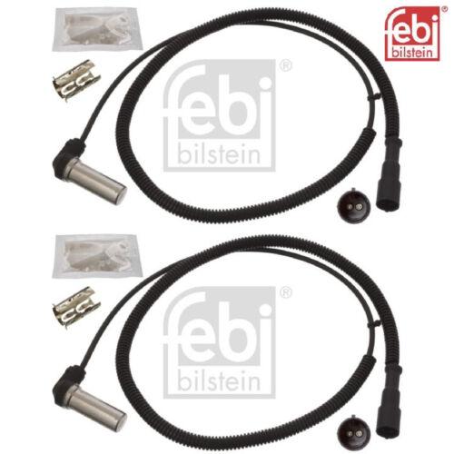 2x ABS sensor Febi bilstein 45779 2 sensor ruedas de revoluciones sensor