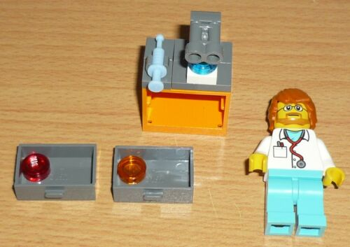 LEGO City 1 medico con microscopio