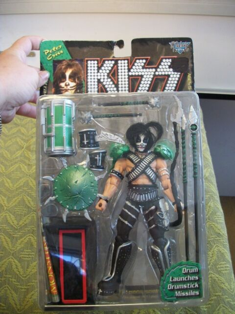 "McFarlane Toys - Kiss Ultra 7"" Action Figure - Peter Criss, FREE SHIPPING"