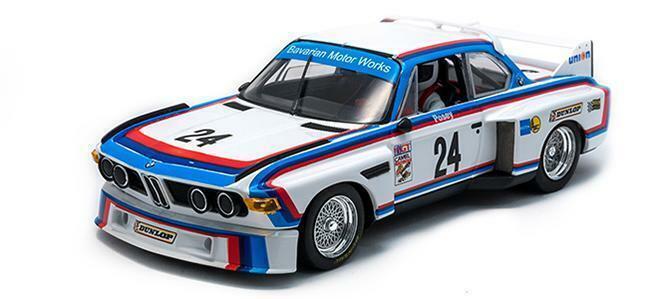 flygaga bil modellllerL - NY BMW 3.5 CSL IMSA 1975 (SAM POSEY) NY RELEASE Herregud