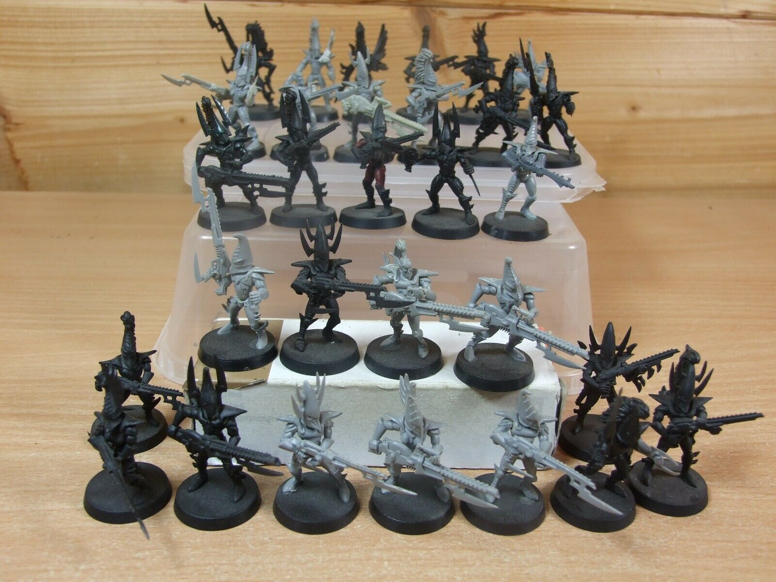 30 PLASTIC WARHAMMER DARK ELDAR WARRIORS PART PAINTED (1198) (1198) (1198) c659e6