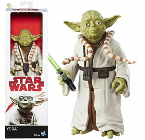 STAR WARS The Empire Strikes Back Yoda Figure 12-Inch SLIGHT DAMAGE TO BOX FPP
