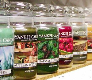 Q-Z-Scents-Yankee-Candle-LARGE-22-oz-JAR-amp-TUMBLER-CANDLES-Retired-New-CHOICES