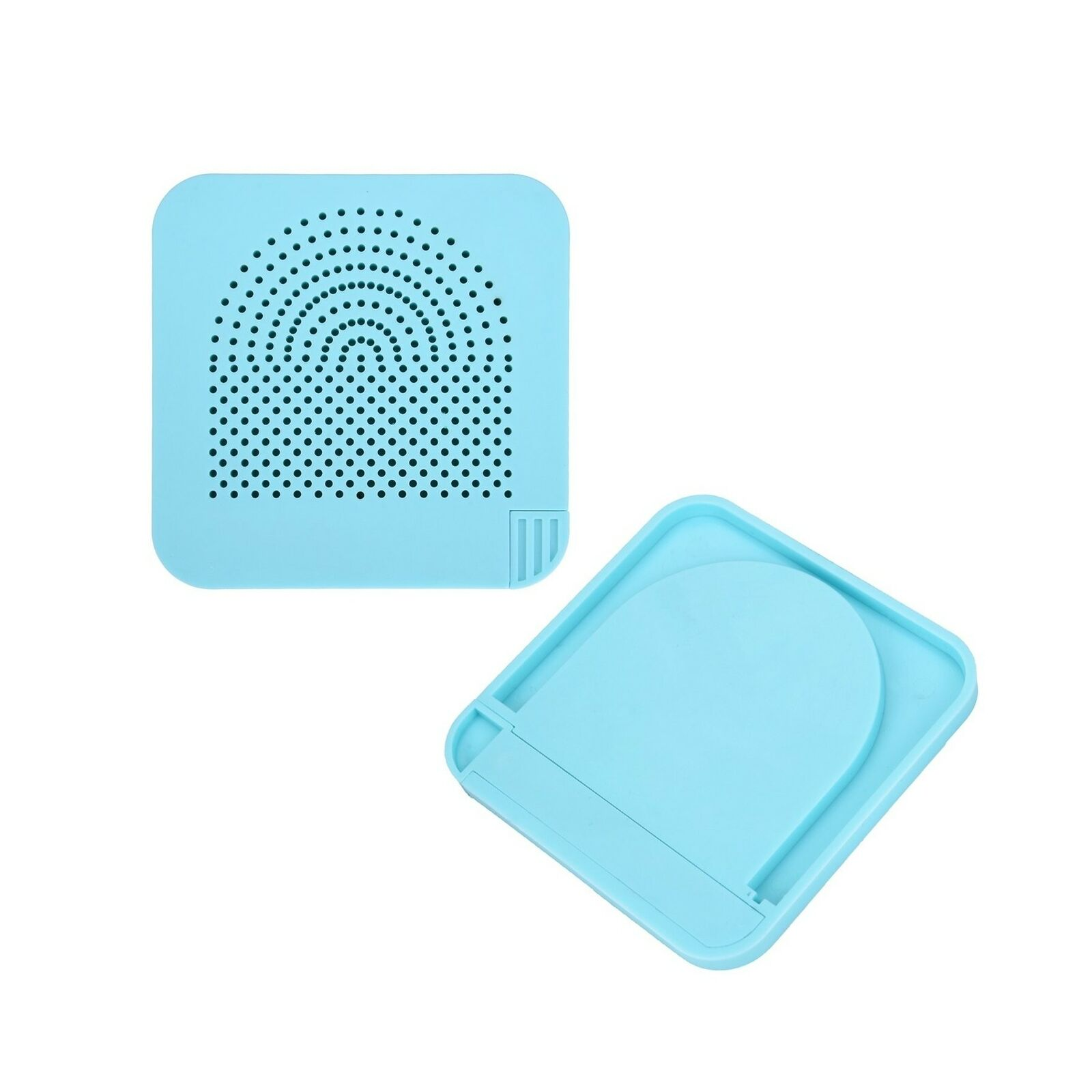 Outus Quilling Board with Pins Storage Light Blue Grid Guide for Paper Crafting Winder Roll Square Craft DIY Tool