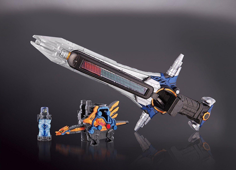 Nuovo Bandai Kamen Rider Costruzione Dx Claws Cross-Z Drago Batti Cross-Zer Set