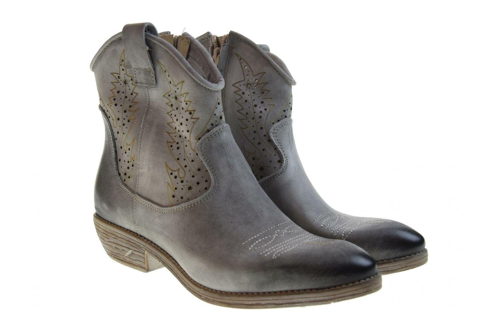 Erman's p19g Zapatos señora méxico gris Texan botas
