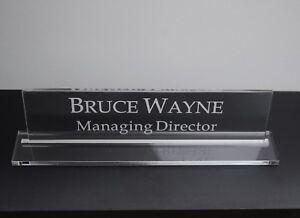 EXECUTIVE-personalizzato-Scrivania-Nome-Personalizzato-Inciso-segno-Nome-Placca-responsabile-ufficio