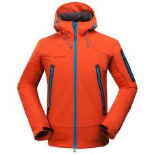 GIACCA MAMMUT SOFTSHELL JACKET Trekking - Sport - Outdoor ARANCIONE tg. L