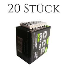 OCB Activ Tips Slim Aktivkohle-Filter 7mm, 20 Stück