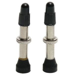 Stans No Tubes Universal Tubeless Presta Valve 55mm w//Removable Core 2 Stems