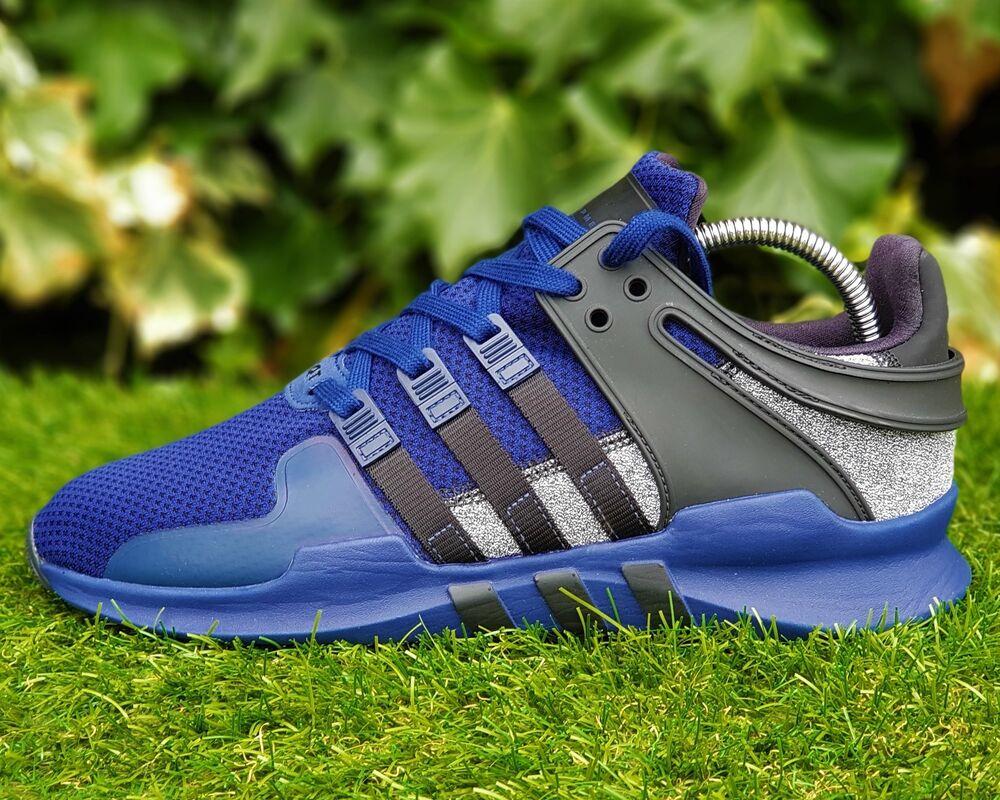 BNWB Adidas Originals ® Equipment Eqt Support Adv 91/17 Bleu Baskets Taille UK 6-
