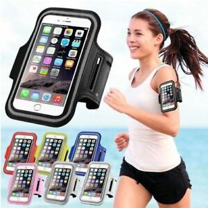 new styles 1c089 25e9b For iPhone X 8 6 6S 7 Plus Sport Running Armband Jogging Gym Arm ...