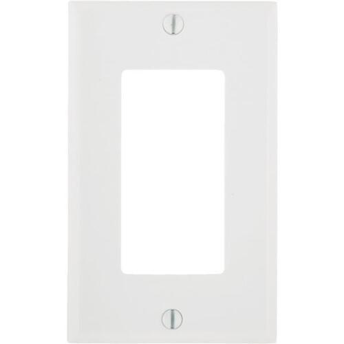 20 Pk Leviton White Single Rocker DECORA Decorator Wall Plate 021-80401-00W