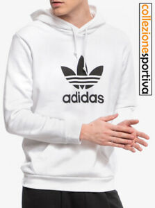adidas trefoil hoodie donna
