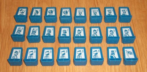 1982 Electronic Stratego Board Game Replacement Parts ~ Pick What You Need