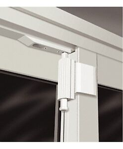 CRL-White-Patio-Door-Spring-Loaded-Lock-PDL1-The-Door-Guardian-Free-Shipping