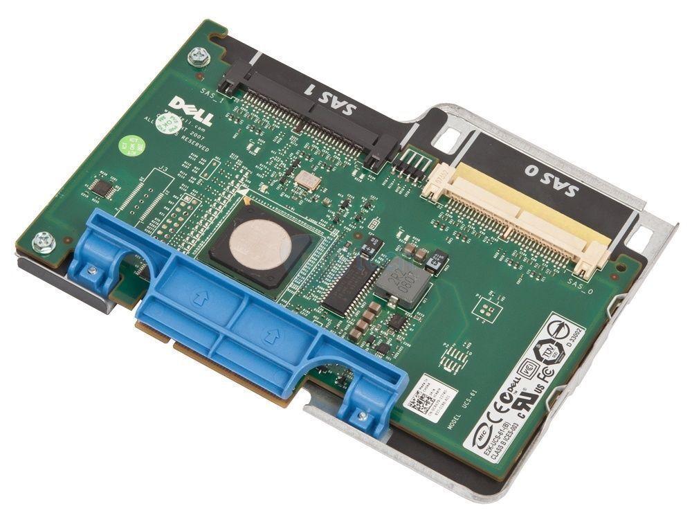 Dell CR679 0CR679 SAS 6i/R 1950 2950 RAID Controller PCIE with Tray