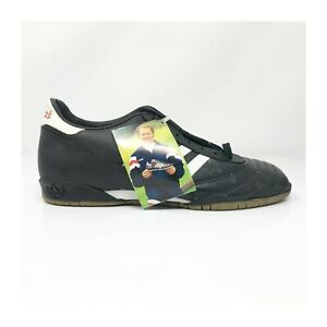 Adidas-Mens-Beckenbauer-Goal-Black-Running-Shoes-Lace-Up-Low-Top-Size-10-5