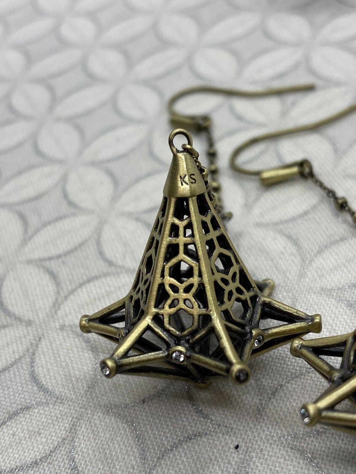 Kendra Scott Diana duster long dangle earrings an… - image 9