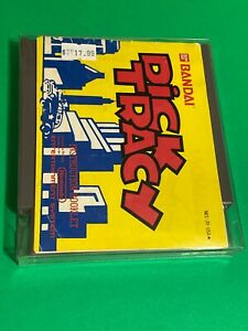 WORKING-NINTENDO-NES-SUPER-RARE-GAME-CARTRIDGE-MANUAL-BANDAI-DICK-TRACY