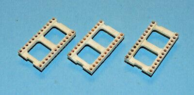 Menge nach Wunsch 24-polig breit Präzisionsfassung // IC-Fassung // IC-Sockel